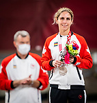 Priscilla Gagné, Tokyo 2020 - Para Judo // Parajudo.<br /> Priscilla Gagné takes home the silver medal in women's 52kg judo // Priscilla Gagné remporte la médaille d'argent en judo féminin de 52 kg. 27/08/2021.
