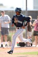 Jarrett Burgess, Seattle Mariners minor league spring training..Photo by:  Bill Mitchell/Four Seam Images.
