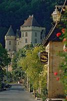 Europe/France/Aquitaine/24/Dordogne/Vallée de la Dordogne/Périgord Noir/La Roque-Gageac: La Château de Malartrie
