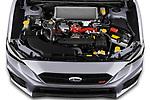 Car Stock 2021 Subaru WRX-STI - 4 Door Sedan Engine  high angle detail view