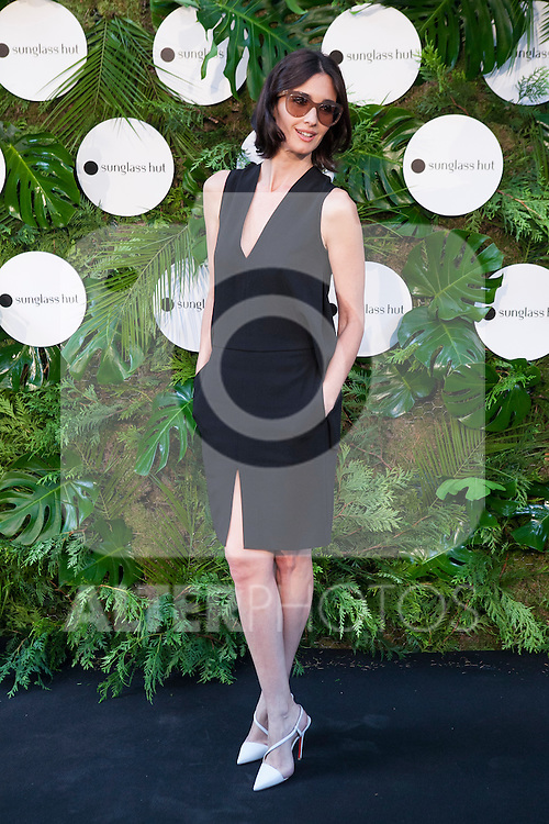 Spanish actress Paz Vega posses at the photocall during the Sunglasses Hut shop inauguration in Madrid, Spain. June 24, 2014. (ALTERPHOTOS/Victor Blanco)
