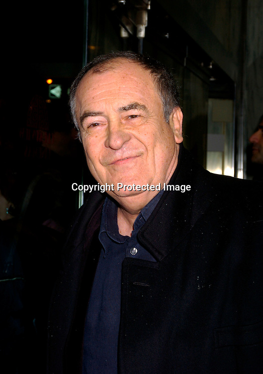 Bernardo Bertolucci ..at the New York Premiere of The Dreamers on February 3, 2004 at the Beekman theatre. Photo by Robin Platzer, Twin ..Images