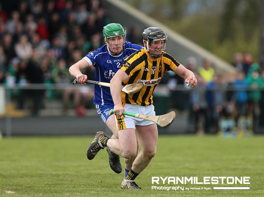 Pat Shortt in action against Pa Dunne of Thurles Sarsfields during the Centenary Agri Mid Senior Hurling Championship Quarter Final between Thurles Sarsfields and Upperchurch/Drombane on Saturday 28th April 2018 at Templetuohy, Co Tipperary, Photo By Michael P Ryan