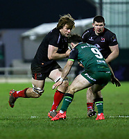 27th December 2020 | Connacht  vs Ulster <br /> <br /> Jordi Murphy is tackled by Caolin Blade during the Guinness PRO14 match between Connacht and Ulster at The Sportsground in Galway. Photo by John Dickson/Dicksondigital