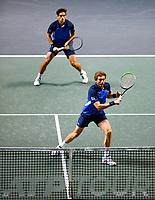 Rotterdam, The Netherlands, 15 Februari 2020, ABNAMRO World Tennis Tournament, Ahoy,<br /> Men's Doubles Final: Men's Doubles Final: Pierre-Hugues Herbert (FRA) and Nicolas Mahut (FRA).<br /> Photo: www.tennisimages.com
