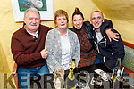 Jack Moriarty from Brendan's Park celebrating his birthday in Sean Óg's on Friday. <br /> L to r: Jack and Sinead Moriarty, Orla O'Brien and Mike Kerins.