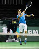 ABN AMRO World Tennis Tournament, Rotterdam, The Netherlands, 15 Februari, 2017, Evgeny Donskoy (RUS)<br /> Photo: Henk Koster