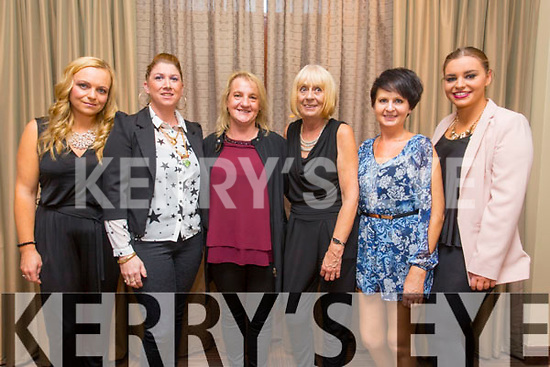 Michelle O'Shea, Helena O'Leary, Gillian Brophy, Jane Parson, Samantha Jones, Ciara Powell enjoying the Different Cultures night in aid of the Butterfly project at Fels Point Hotel on Saturday