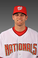 14 March 2008: ..Portrait of Kyle Gunderson, Washington Nationals Minor League player at Spring Training Camp 2008..Mandatory Photo Credit: Ed Wolfstein Photo