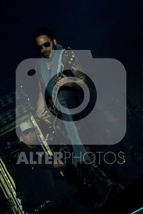 30.06.2012. Concert ´Lenny Kravitz´ during Rock in Rio Festival 2012 in Madrid. (Alterphotos/Marta Gonzalez)