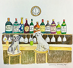 Example 2 Pets w/Background Watercolor<br /> 11x14