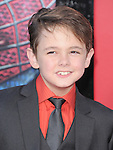 Max Charles attends  COLUMBIA PICTURES' THE AMAZING SPIDER-MAN Premiere held at Regency Village Theater in Westwood, California on June 28,2012                                                                               © 2012 Hollywood Press Agency