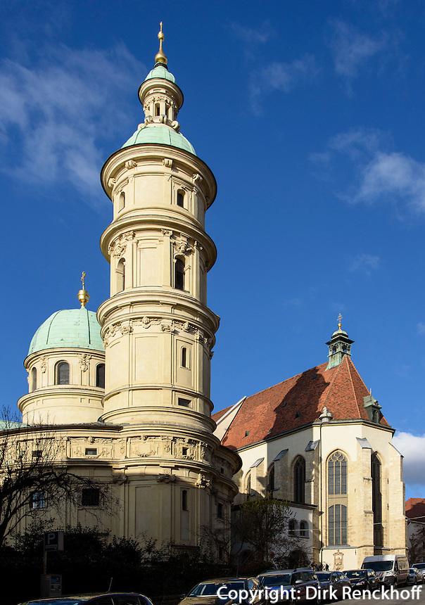 Mausoleum und Dom, Graz, Steiermark, Österreich, UNESCO-Weltkulturerbe<br /> Mausoleum and cathedral, Graz, Styria, Austria, heritage site