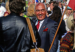 Gorbachev lookalike at the whmsical Doo Dah Parade in Pasadena, CA