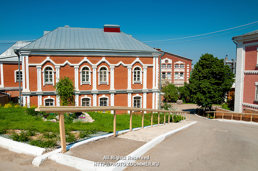 Constructions on the territory of the Iversky nunnery (monastery) in Samara, Russia