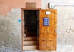 Viana.Navarra.Espana.Viana.Navarra.Spain.Entrada al albergue de peregrinos..Entrance to the hostel for pilgrims.(ALTERPHOTOS/Alfaqui/Acero)