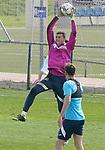 Getafe CF's David Soria during training session. February 17, 2021.(ALTERPHOTOS/Acero)