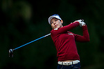 Char Young Kim of Korea in action during the Hyundai China Ladies Open 2014 on December 12 2014, in Shenzhen, China. Photo by Xaume Olleros / Power Sport Images