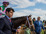 October 06 2018 : Golden Mischief with Florent Geroux wins the Thoroughbred Club of America Stakes at Keeneland Racecourse on October 06, 2018 in Lexington, Kentucky. Evers/ESW/CSM