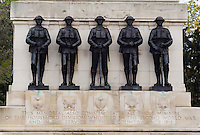 Foot Guards Memorial on the grounds of the House Guards Parade