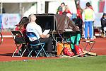IPC European Athletics Championship 2014<br /> Volunteer, Officials<br /> Swansea University<br /> 23.08.14<br /> ©Steve Pope-SPORTINGWALES