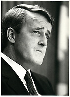 Brian  Mulroney<br /> , 21 Mars 1983<br /> <br /> <br /> PHOTO :  Agence Quebec Presse