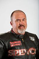 Feb 6, 2020; Pomona, CA, USA; NHRA top fuel nitro Harley Davidson motorcycle rider Tii Tharpe poses for a portrait during NHRA Media Day at the Pomona Fairplex. Mandatory Credit: Mark J. Rebilas-USA TODAY Sports