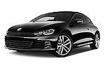 Stock pictures of low aggressive front three quarter view of a 2015 Volkswagen SCIROCCO R 3 Door Hatchback 2WD Low Aggressive