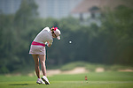 Paula Creamer plays during the World Celebrity Pro-Am 2016 Mission Hills China Golf Tournament on 23 October 2016, in Haikou, Hainan province, China. Photo by Marcio Machado / Power Sport Images
