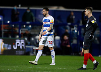 17th February 2021; The Kiyan Prince Foundation Stadium, London, England; English Football League Championship Football, Queen Park Rangers versus Brentford; Geoff Cameron of Queens Park Rangers