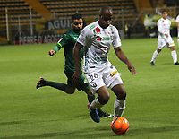 BOGOTA -COLOMBIA, 1-04-2017.Action game between  La Equidad and Once Caldas during match for the date 11 of the Aguila League I 2017 played at Techo  stadium . Photo:VizzorImage / Felipe Caicedo  / Staff
