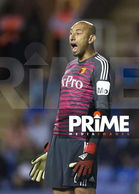 Goalkeeper Heurelho Gomes of Watford during the Carabao Cup Round 2 match between Reading and Watford at the Madejski Stadium, Reading, England on 29 August 2018. Photo by Andy Rowland