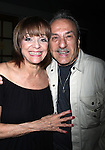 """***Exclusive Coverage***<br /> Valerie Harper & Joe Sicari Backstage at """"LOOPED"""" starring Valerie Harper as Tallulah Bankhead at the Arena Stage - Ford Theatre  in Washington, D.C. June 12, 2009<br /> pictured with her old acting buddy Joe Sicari"""