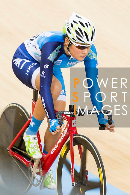Pang Yao of Hong Kong competes on the Women's Omnium Points Race 4/4  during the 2017 UCI Track Cycling World Championships on 14 April 2017, in Hong Kong Velodrome, Hong Kong, China. Photo by Chris Wong / Power Sport Images
