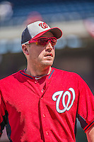 6 April 2015: Washington Nationals pitcher Jordan Zimmermann watches batting practice sporting his new Oakley sunglasses prior to the Home Opening Game against the New York Mets at Nationals Park in Washington, DC. The Mets rallied to defeat the Nationals 3-1 in their first meeting of the 2015 MLB season. Mandatory Credit: Ed Wolfstein Photo *** RAW (NEF) Image File Available ***
