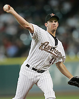 Houston Astros Pitcher Roy Oswalt on Thursday May 22nd at Minute Maid Park in Houston, Texas. Photo by Andrew Woolley / Four Seam Images..