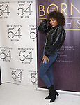 """Liisi LaFontaine backstage after a Song preview performance of the Bebe Winans Broadway Bound Musical """"Born For This"""" at Feinstein's 54 Below on November 5, 2018 in New York City."""