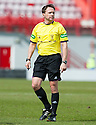 Referee Crawford Allan.