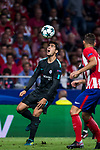 Alvaro Morata of Chelsea FC in action during the UEFA Champions League 2017-18 match between Atletico de Madrid and Chelsea FC at the Wanda Metropolitano on 27 September 2017, in Madrid, Spain. Photo by Diego Gonzalez / Power Sport Images