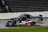 #18: Noah Gragson, Kyle Busch Motorsports, Toyota Tundra Safelite AutoGlass, #9: Codie Rohrbaugh, CR7 Motorsports, Ford F-150 Grant County Mulch