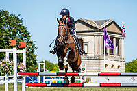 GBR-Rosalind Canter rides Shannondale Nadia during the Showjumping for the CCI-l 3* Section B. Final-1st. 2021 GBR-Saracen Horse Feeds Houghton International Horse Trials. Hougton Hall. Norfolk. England. Sunday 30 May 2021. Copyright Photo: Libby Law Photography