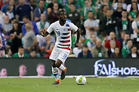 Dublin, Ireland - Saturday June 02, 2018: Shaquell Moore during an international friendly match between the men's national teams of the United States (USA) and Republic of Ireland (IRE) at Aviva Stadium.