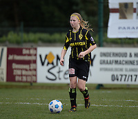 20140315 - WESTERLO , BELGIUM : Lierse Merel Groenen pictured during the soccer match between the women teams of SK Lierse Dames  and SC Heerenveen Vrouwen , on the 19th matchday of the BeNeleague competition Saturday 15 March 2014 in Westerlo . PHOTO DAVID CATRY