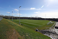 Pictured: General view of one of the pitches. Friday 07 March 2014<br /> Re: Opening of the new training facility for Swansea City Football Club at Fairwood in the outskirts of the south Wales city.