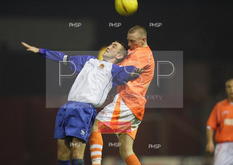 4391 Whittaker.Blackpool YT V Chester YT