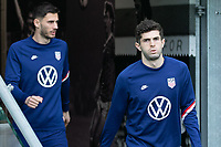 BELFAST, NORTHERN IRELAND - MARCH 28: Christian Pulisic of the United States during a game between Northern Ireland and USMNT at Windsor Park on March 28, 2021 in Belfast, Northern Ireland.
