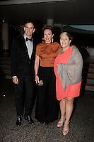September 16 2012 - Montreal, Quebec, CANADA - Gemeaux Awards Gala - <br /> - Eric Bernier ,Macha Limonchik , Valerie Blais.