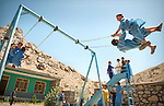 Kabul, Afghanistan.  June 19.  Students play during recess at CAI's Lelander school.