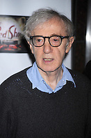 Woody Allen attends a film screening of The Red Shoes at the Directors Guild of America Theater in New York City. November 3, 2009. Credit: Dennis Van Tine/MediaPunch