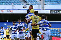 Shaun Hutchinson of Millwall scores a late goal but is ruled offside during Queens Park Rangers vs Millwall, Sky Bet EFL Championship Football at Loftus Road Stadium on 18th July 2020